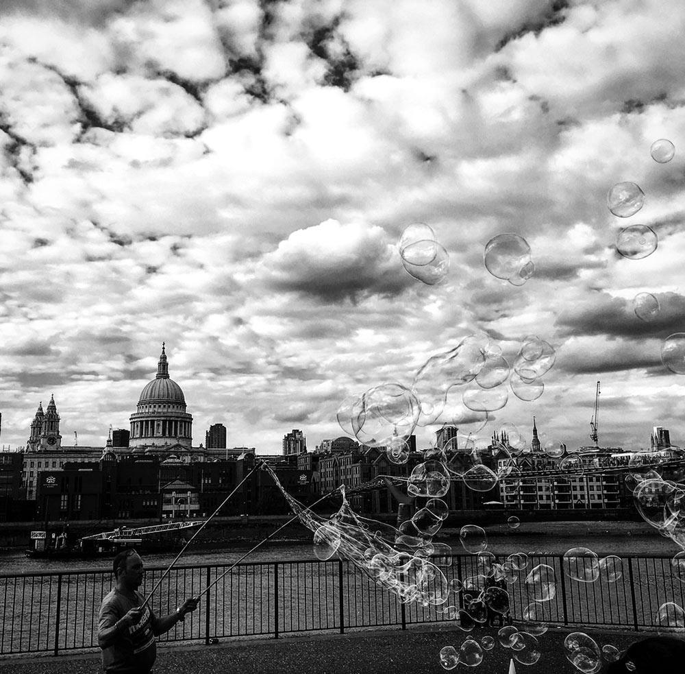 London, Themse-Ufer