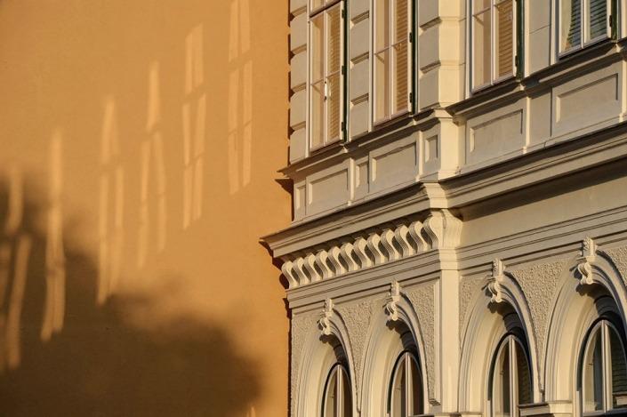 Wien, Architektur mit Stoff
