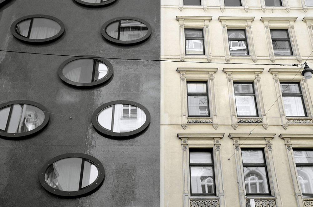 Wien, Fassade