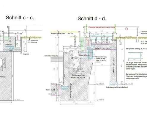 CAD-Vektorisierung: Brückenbau