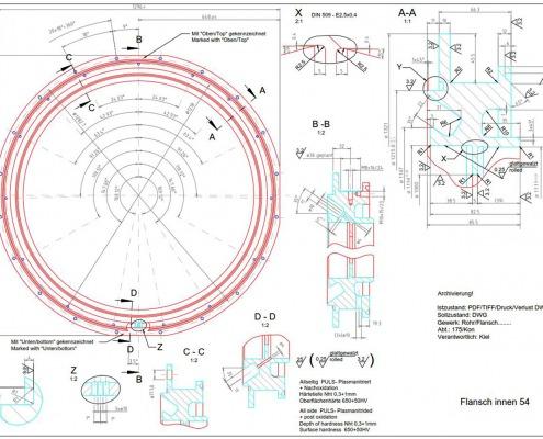 CAD-Plan: Anlagentechnik Detailplan